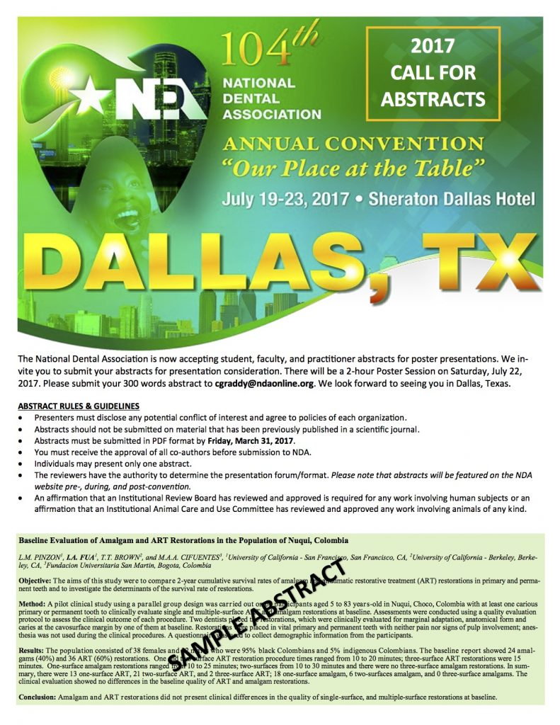 2017 Call for Abstracts copy